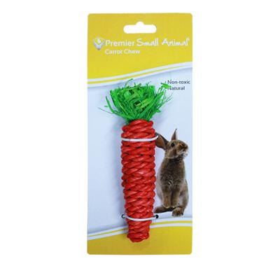 Premier Carrot Chew Natural Toy For Small Animals