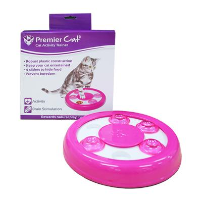 Premier Cat Activity Trainer Puzzle Slow Feeder Treat Toy For Cats