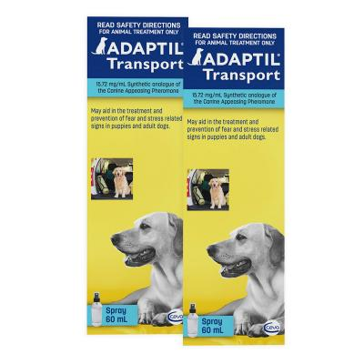 Adaptil Spray For Dogs 60ml 2 Pack