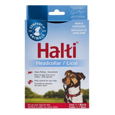 Company Of Animals Halti Headcollar Black Size 1 For Dogs