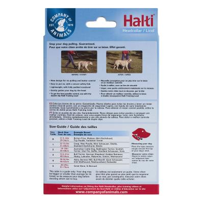 Company Of Animals Halti Headcollar Black Size 4 For Dogs