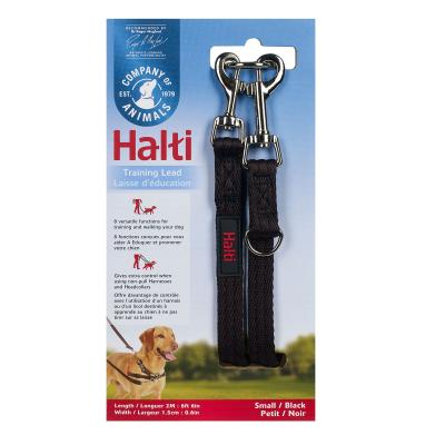 Company Of Animals Halti Training Lead Black Small For Dogs