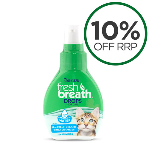 Tropiclean Fresh Breath Drops