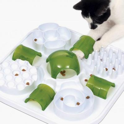 Catit Play Treat Puzzle Maze 6 In 1 Interactive Toy For Cats
