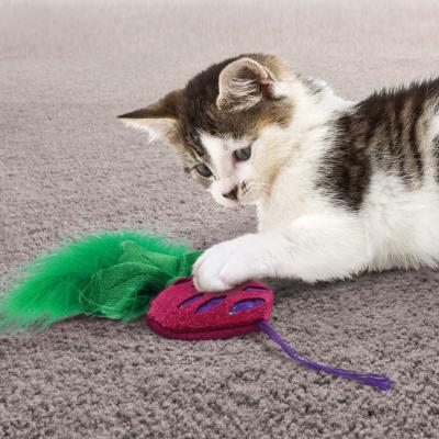 KONG Crackles Rootz Assorted Vegetable Catnip Toy For Cats