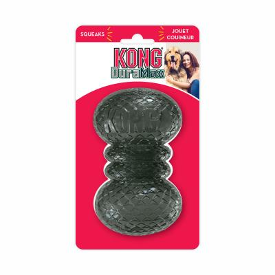 KONG DuraMax Dumbbell Squeak Toy Medium For Dogs