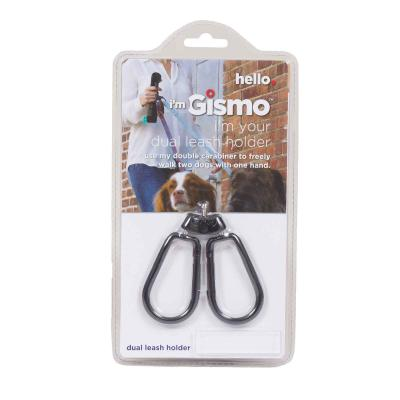 I'm Gismo Starter Kit With Lead Handle And Poop Bag Dispenser Retro Green For Dogs