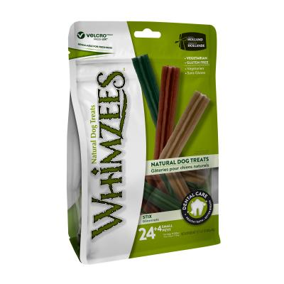Whimzees Dental Stix Small Treats For Dogs 7 -12kg 28 Pack 420gm