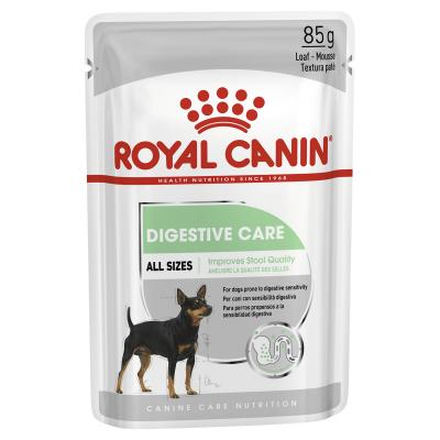 Royal Canin Digestive Care Adult Loaf Pouches Wet Dog Food 12 x 85g