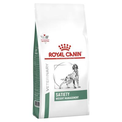 Royal Canin Veterinary Diet Canine Satiety Weight Management Dry Dog Food 12kg (11378)