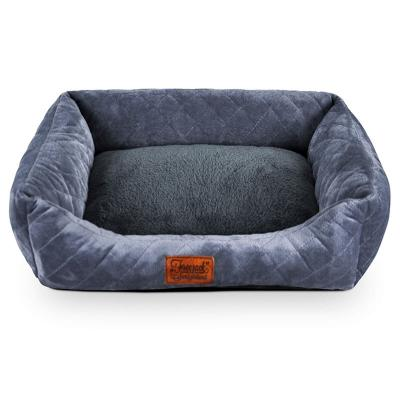 Freezack Soft Basket Sofa Small Bed For Dogs