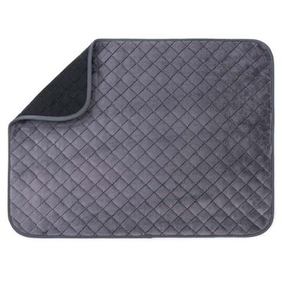 Freezack Soft Roll Up Mat Large Navy Grey Bed For Dogs