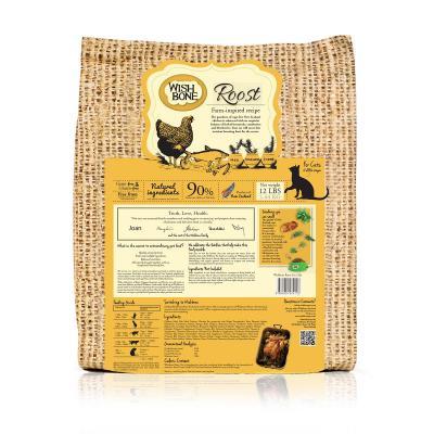 Wishbone Roost Chicken Grain Free Dry Cat Food 5.44kg