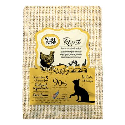 Wishbone Roost Chicken Grain Free Dry Cat Food 1.81kg
