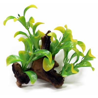 Aquatopia Mini Plant With Stick On Suction Cap For Fish Aquarium