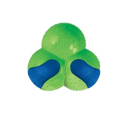 KONG Durasoft Clover Assorted Colour Squeak Toy Large For Dogs