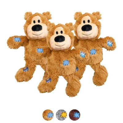 KONG Wild Knots Bear Extra Small Toy For Dogs x 3