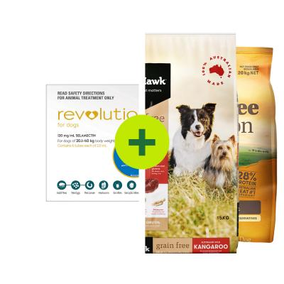 Revolution Plus Grain Free Natural Food For Dogs