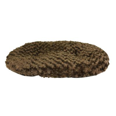 Yours Droolly Delux Indoor Cushioned Mat Chocolate Brown Medium Bed For Dogs (90 x 75cm)