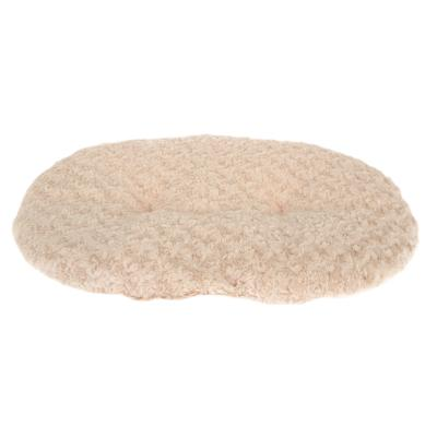 Yours Droolly Delux Indoor Cushioned Mat Tan Large Bed For Dogs