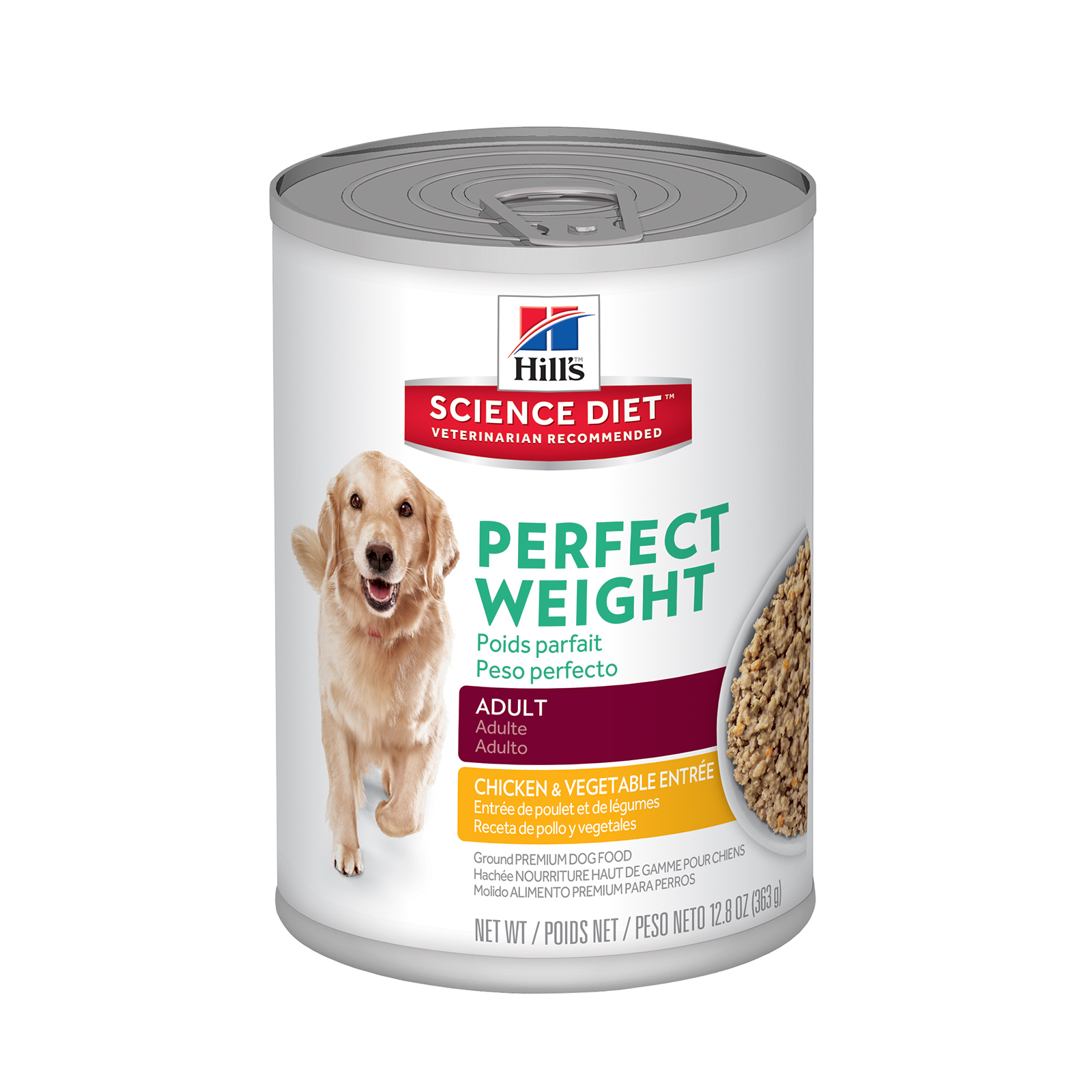 diet science hills dog food weight perfect adult wet canned cans dogs 2975