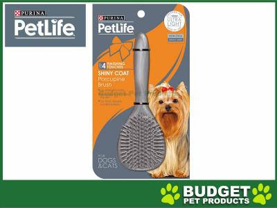 Petlife Step 4 Porcupine Brush For Dogs