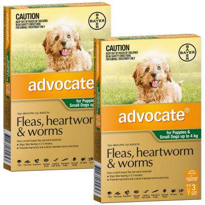Advocate For Dogs Small Green Up To 4kg 6 Pack