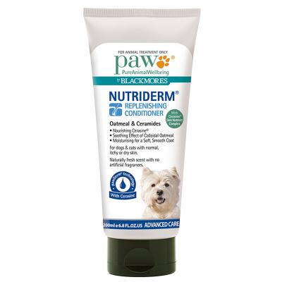 Paw Nutriderm Conditioner For Cats Dogs Horses 200ml