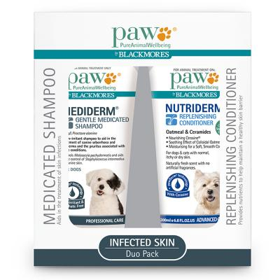 Paw Mediderm & Nutriderm Duo Pack For Dogs