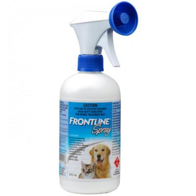Frontline Spray For Dogs And Cats 500ml