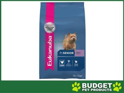 Eukanuba Small Breed Senior 7+ Years Dry Dog Food 7.5kg