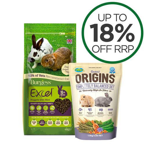 Rabbit Pellets & Treats