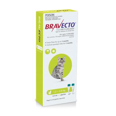 Multipet Plus - Bravecto 6 Month Tick Control And Flea Prevention Treatment For Cats And Dogs