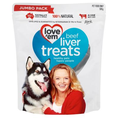 Natures Goodness Food Plus Love Em Treats For Dogs