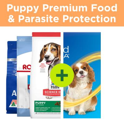 Essential Puppy Products - Nexgard Spectra Parasite Control Plus Premium Food For Dogs