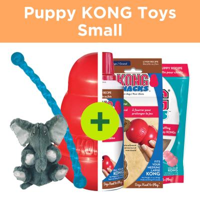 KONG Puppy Play Plus Rewards For Small Puppies
