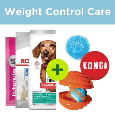 Weight Management Care - Premium Small Breed Food Plus Get Active Toys For Dogs