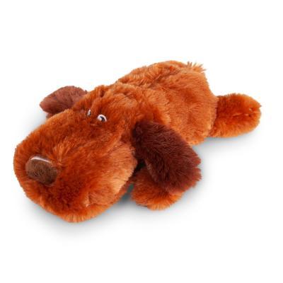 Kazoo Furries Lazy Dog Medium Plush Squeak Toy For Dogs