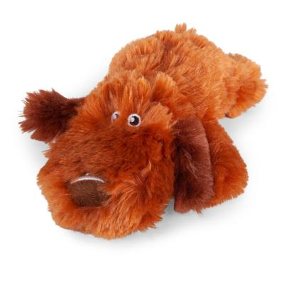 Kazoo Furries Lazy Dog Small Plush Squeak Toy For Dogs
