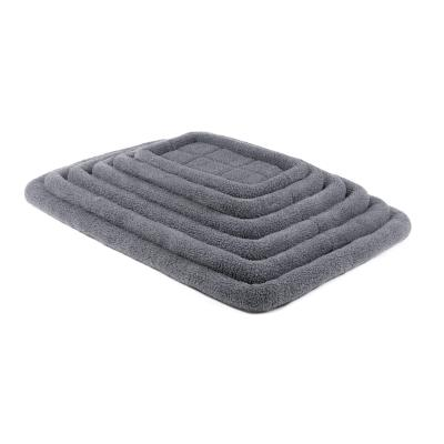 Kazoo Cushioned Mat Crate Bed Navy Grey XX Large For Dogs 122 x 76cm