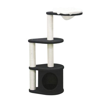Kazoo Kitty 3 Tier Play Platform Den Scratching Post Fun House Toy For Cats