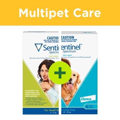 Multipet Plus - Sentinel Spectrum For Dogs