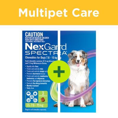 Multipet Plus - NexGard Spectra For Dogs