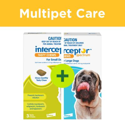 Multipet Plus - Interceptor Spectrum For Dogs