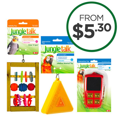 Jungle Talk Toys