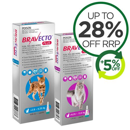 Bravecto Plus For Cats