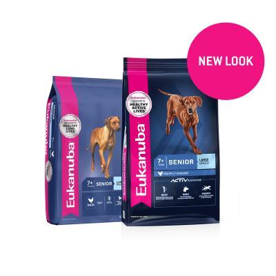 Eukanuba Large Breed Senior 7+ Years Dry Dog Food 14kg