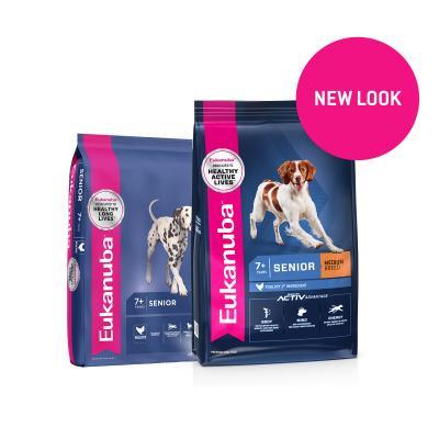 Eukanuba Medium Breed Senior 7+ Years Dry Dog Food 15kg