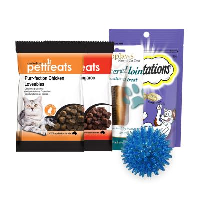 Easter Treatster Ball Toy And Treats Pack For Cats