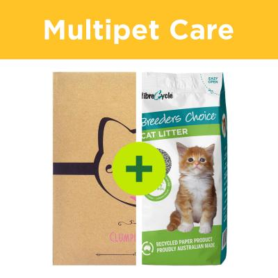 Multipet Plus - Litter For Multicat Households